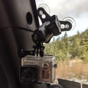 GoPro Windshield Swivel Mount